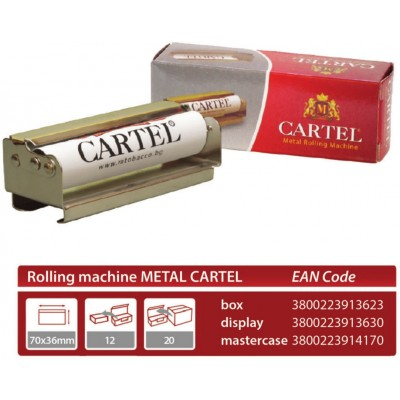Cartel Rolling Machine Metal