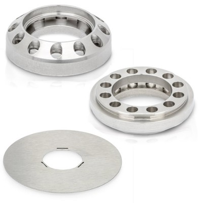 Steamulation Blow Off Adapters Up - Down - Plate