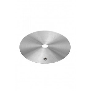 Ocean KAIF S - Blow off plate silver - Stainless Steel