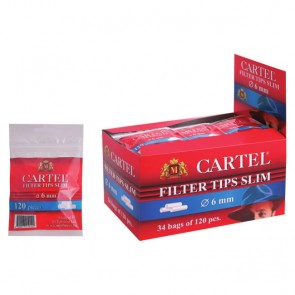 Cartel Filter Tips Slim